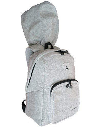Nike Air Jordan Hood Backpack in Gray and Black for Men and Women  Nike   Jordan  Backpack  Hood bc04c53f3a