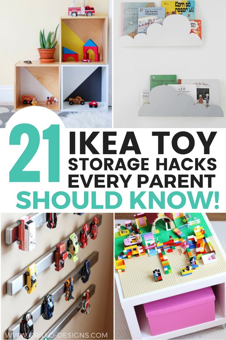 21 Ikea Toy Storage Hacks Will Help You To Get Organised On A Minimum Budget Grillo Designs Www