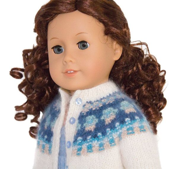 Doll Clothes Pattern, Bohus Knitting Pattern for American Girl Doll ...