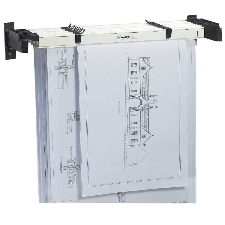 Eco A0 A1 A2 Plan Holder Wall Racks With 10 Eco