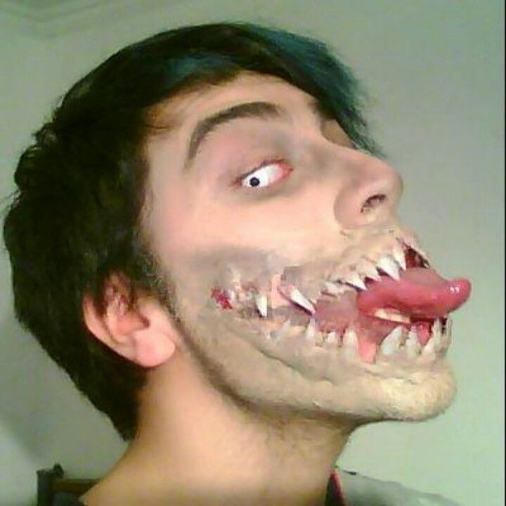 Ouh... Monster mouth makeover :D | Halloween and Costumes ...