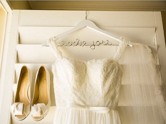 Wedding Hanger, Personalized Hanger, Clothes Hanger, Bride Hanger ...