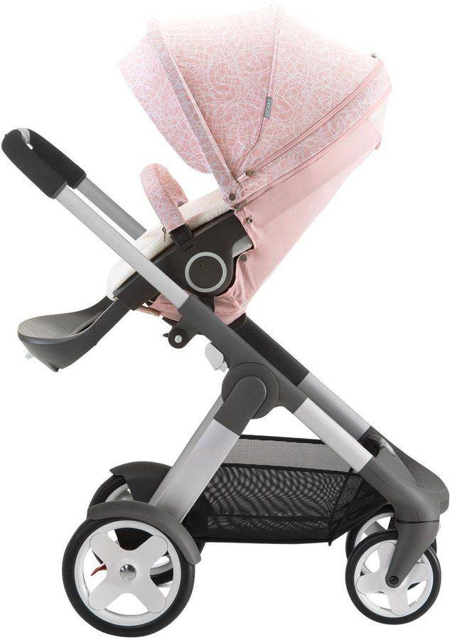 Stokke Stroller Summer Kit Faded Pink Baby Prams Baby