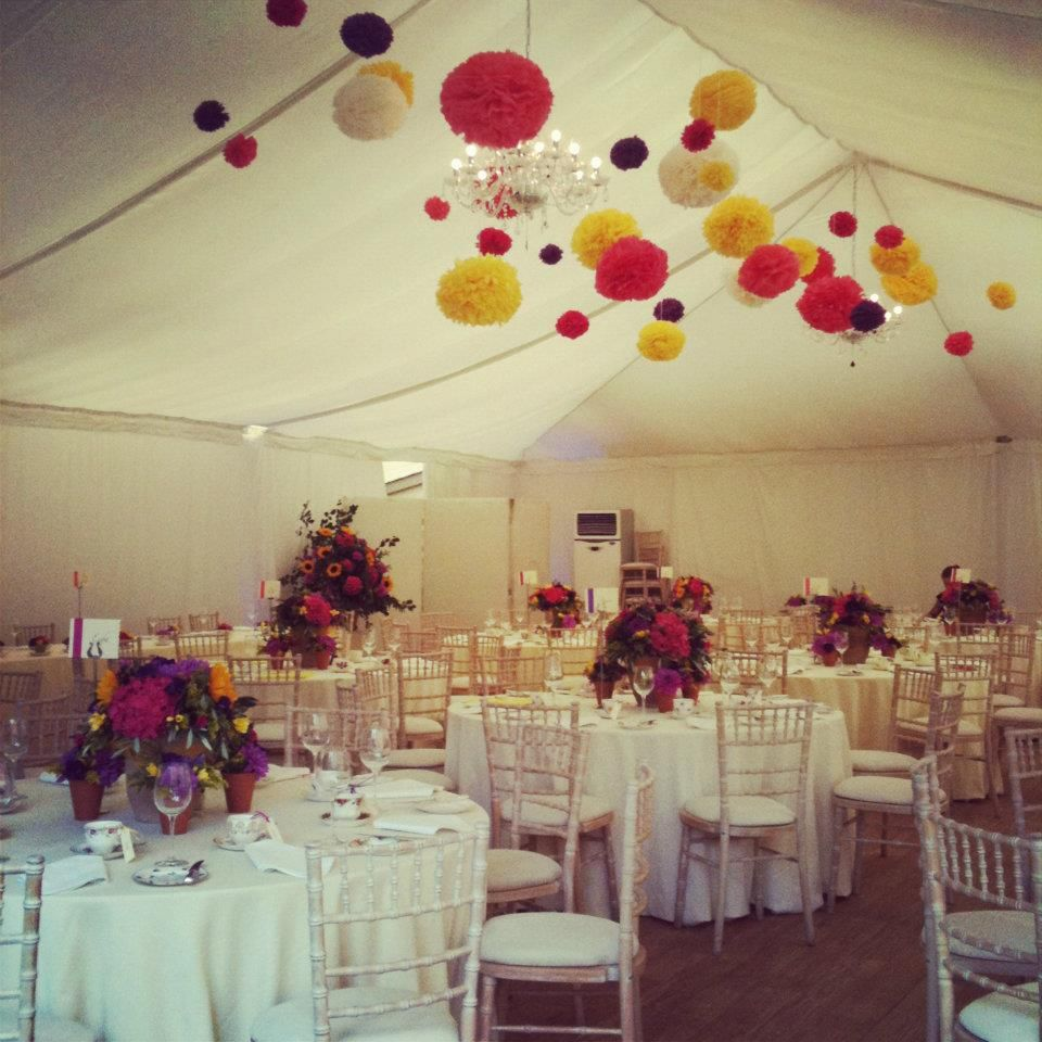 Re-pin! #wedding Marquees, Bright Coloured Wedding, Love