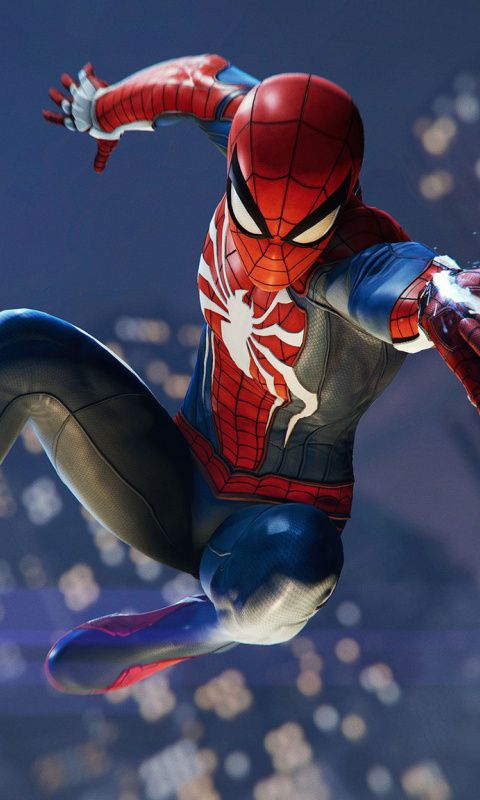 Ps4 Pro Video Game Spider Man Ps4 Game 480x800 Wallpaper Spiderman Spiderman Art Spiderman Pictures