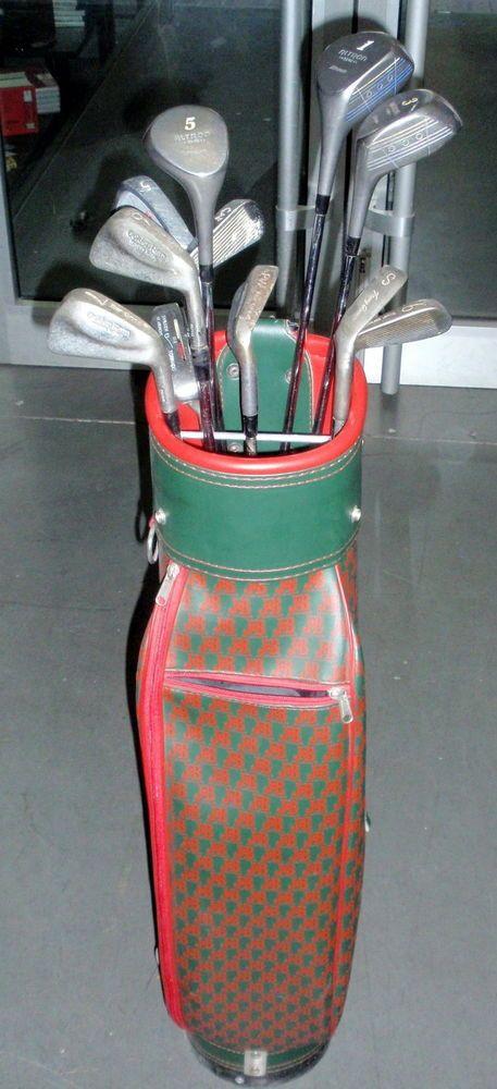 Material deportivo GOLF Juego de palos de golf 11 palos + bolsa buen estado