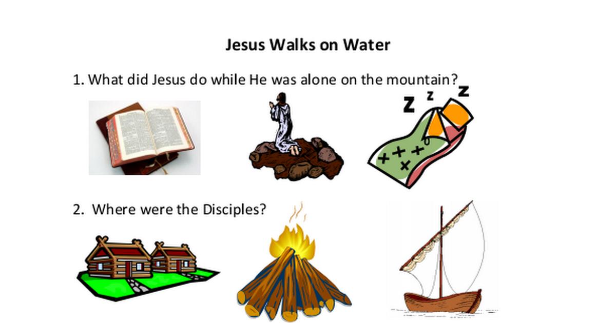8. Jesus Walks on Water Worksheet.pdf (With images