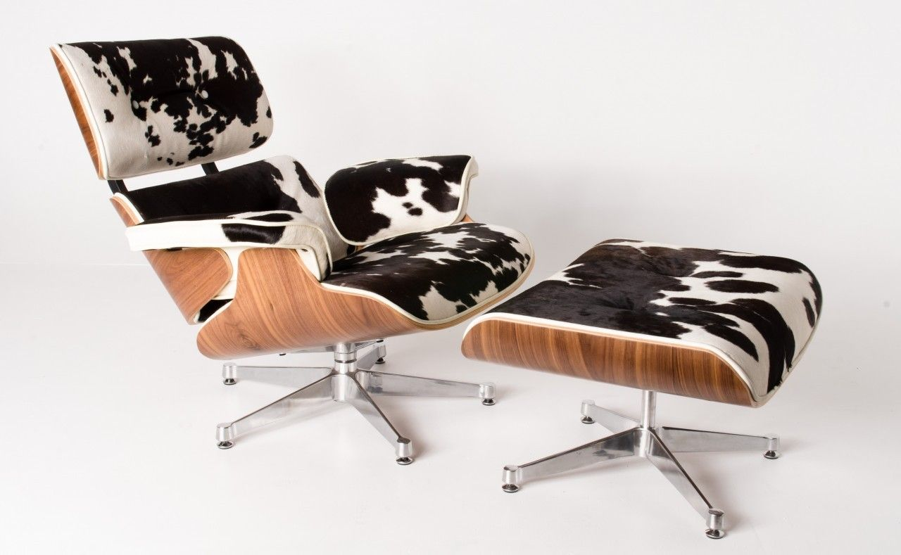 Milano Republic Furniture - Replica Eames lounge chair ottoman ...