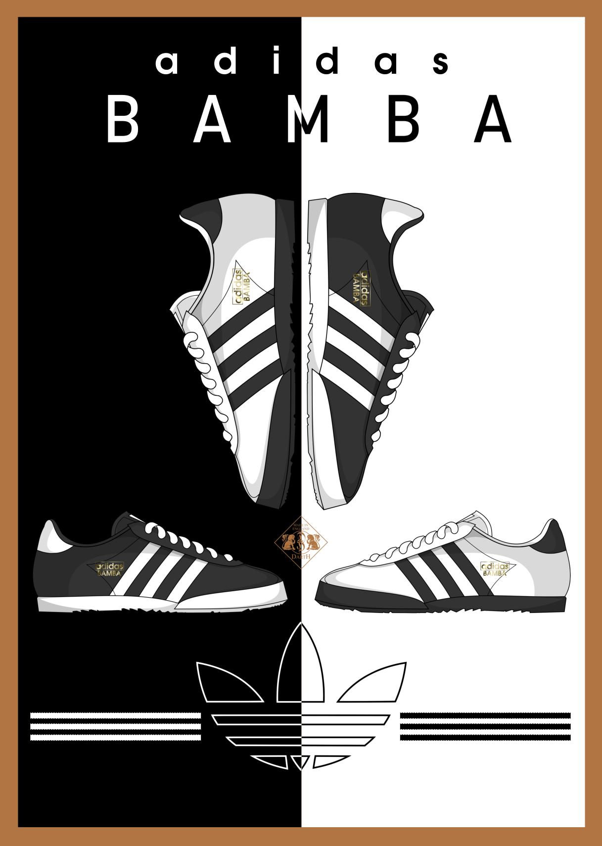 Pin Oleh Nahuel Fuster Di Adidas Gaya Kasual Gambar Garis Sepatu Adidas