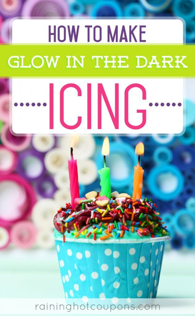 Wondrous How To Make Glow In The Dark Icing With Images Glow In Dark Funny Birthday Cards Online Eattedamsfinfo