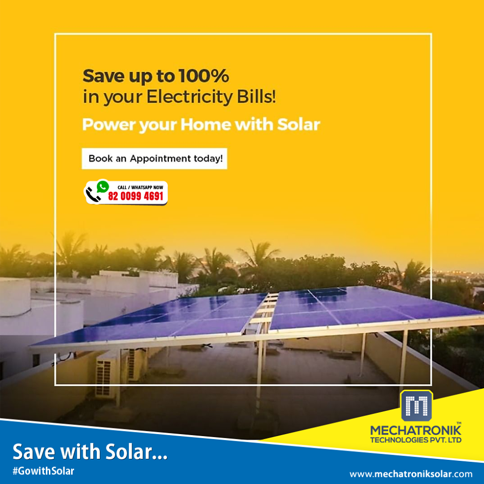 #Invest In #solar With #Mechatronik Once And Save On