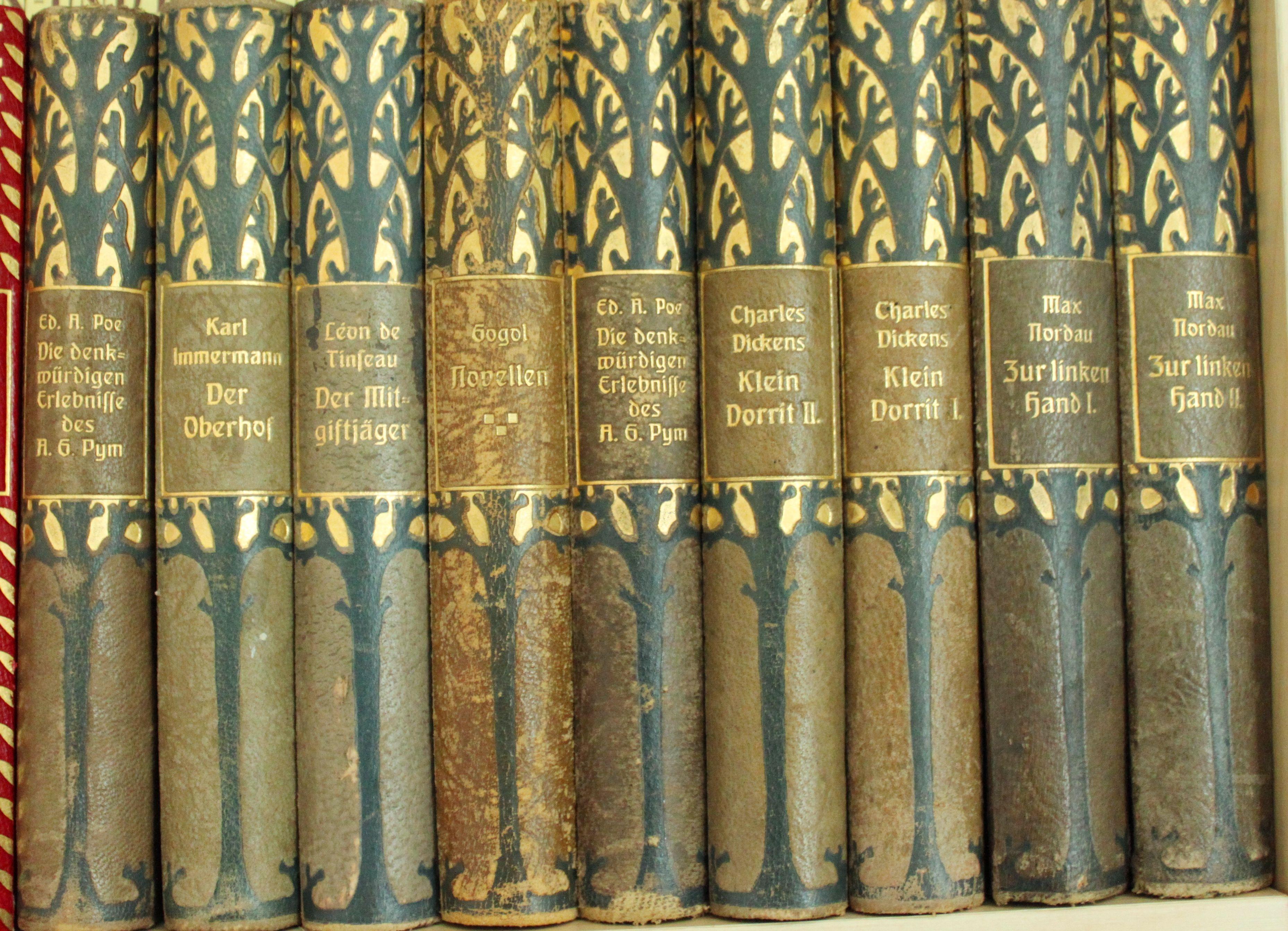 Bücher des Deutschen Hauses - 2. Reihe Herausgegeben von Rudolf Presber  Buchverlag fürs Deutsche Haus 1908