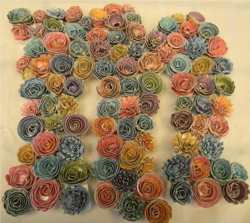 Amazing cricut paper flowers business cards pinterest paper amazing cricut paper flowers mightylinksfo
