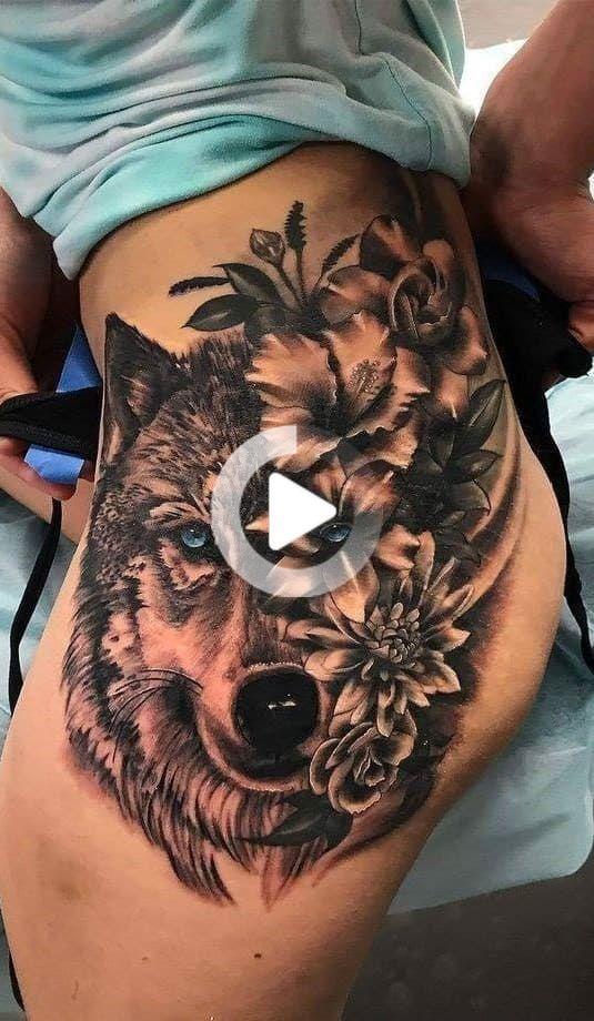 Photo of インスピレーションのための40のオオカミの入れ墨[女性と男性]#3  – 写真&タトゥー