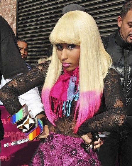 Dip Dye Platinum Blonde Hair Hair Beauty Nicki Minaj Hairstyles