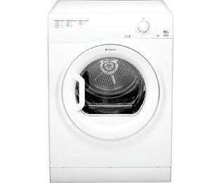 Hotpoint TVYM650C6P Vented Tumble Dryer Freestanding White ...