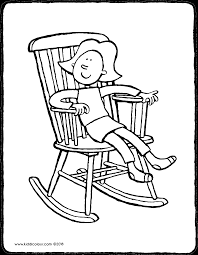 Emma In A Rocking Chair Kiddicolour Coloring Pages Pictures To Draw Coloring Pictures