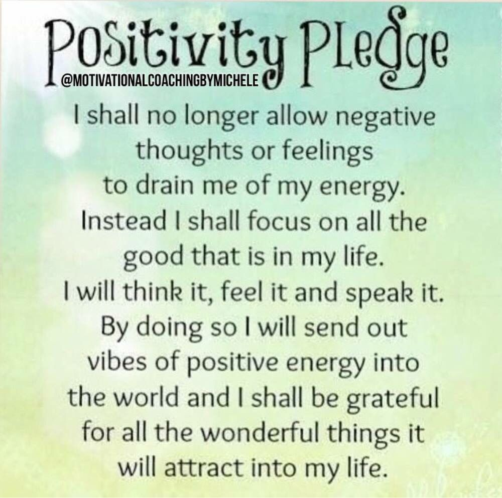 Positive Affirmation Quotes Happy Hump Day Read This Pledge To Yourself And Promise To Be