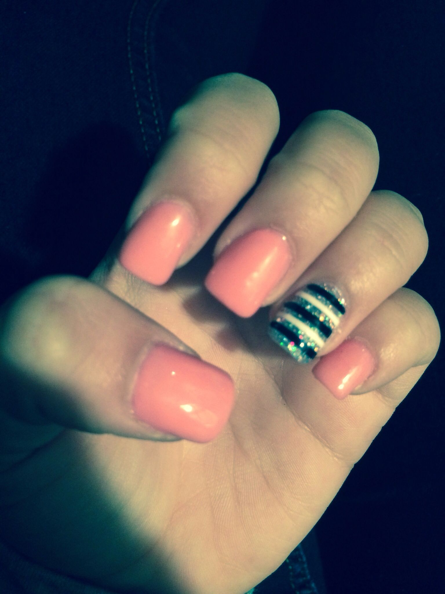 Absolutely LOVE my new nails! Got them done at Fingers ...