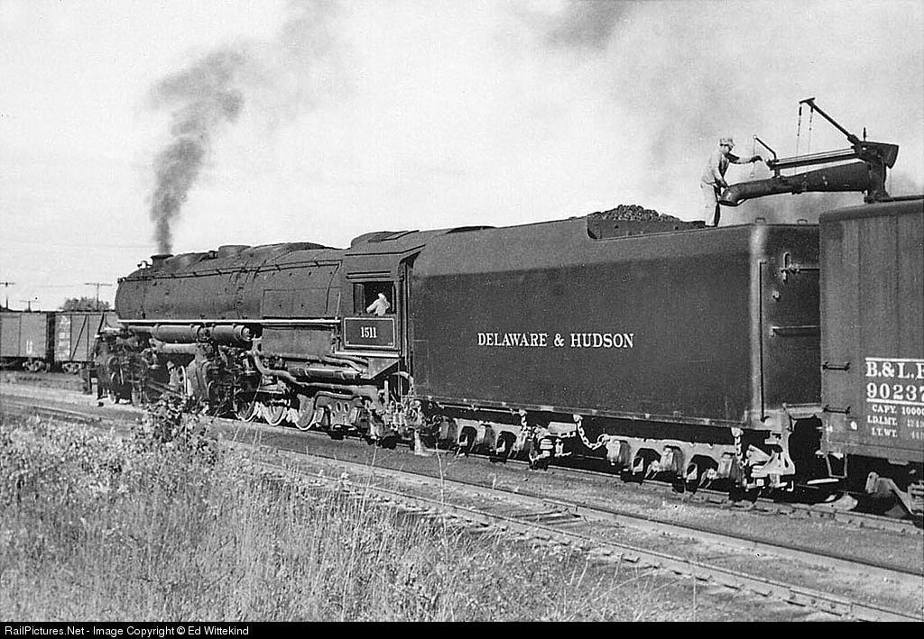 Railpictures Net Photo D H 1511 Delaware Hudson Steam 4 6 6 4 At Schenectady New York By Ed Wittekind Locomotive Steam Locomotive Vintage Train