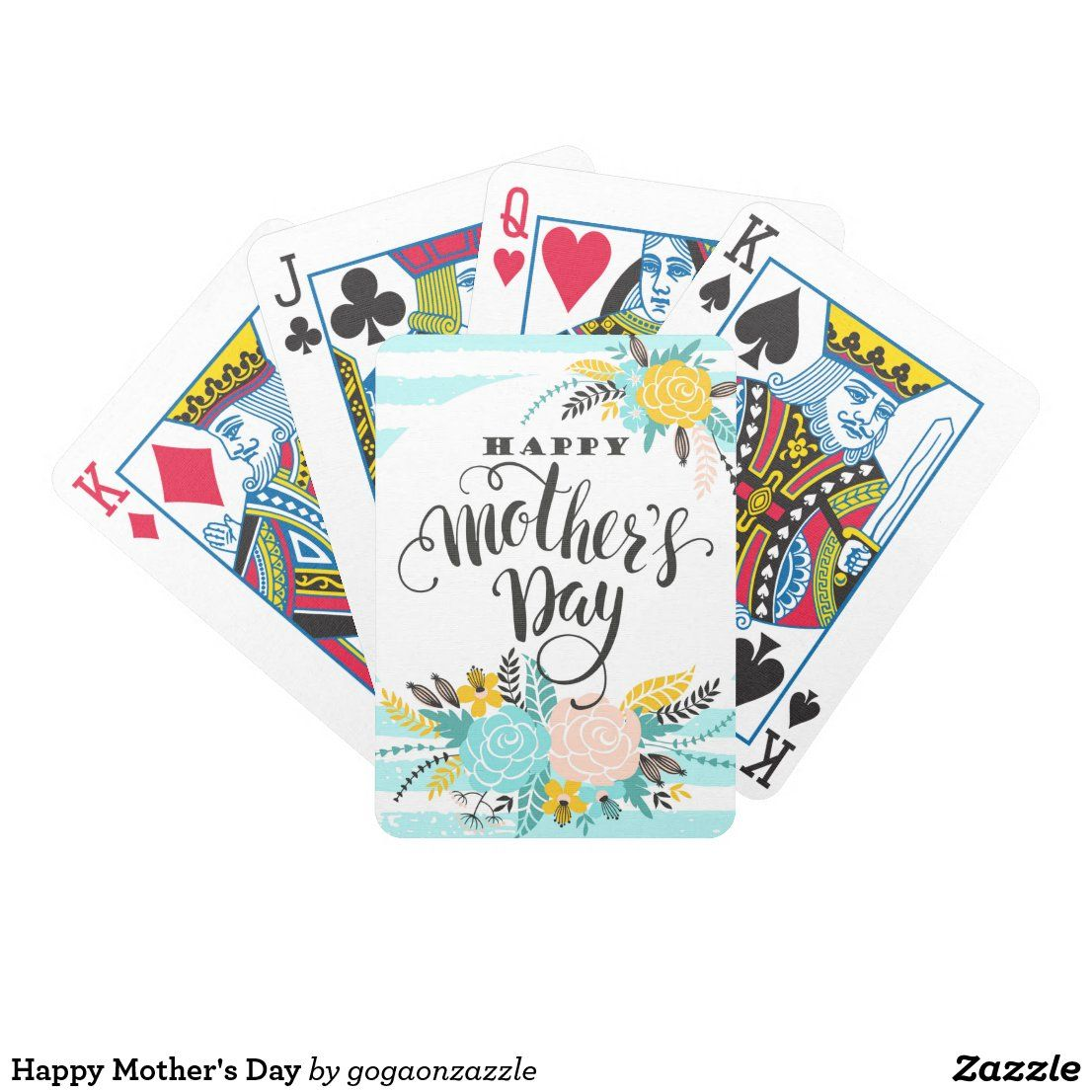 Happy Mother S Day Bicycle Playing Cards Zazzle Com Happy Mothers Day Happy Mothers Bicycle Playing Cards
