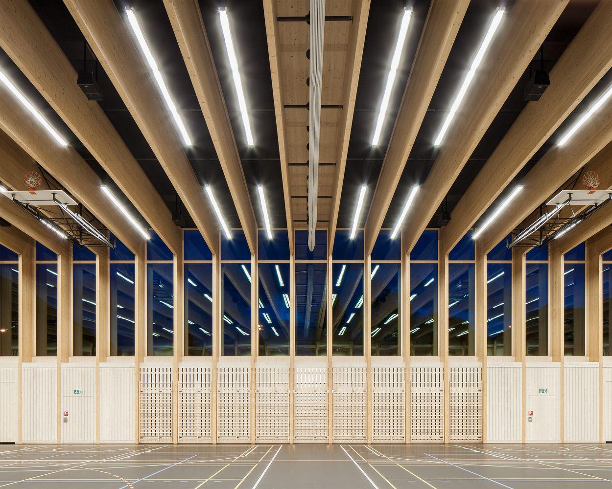Gallery of Sports Center Sargans / Ruprecht Architekten