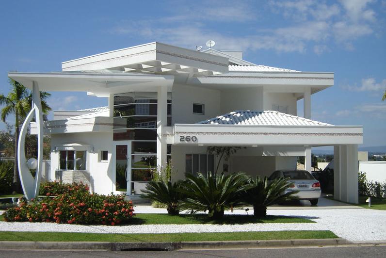 25 fachadas de casas ultramodernas esculturais
