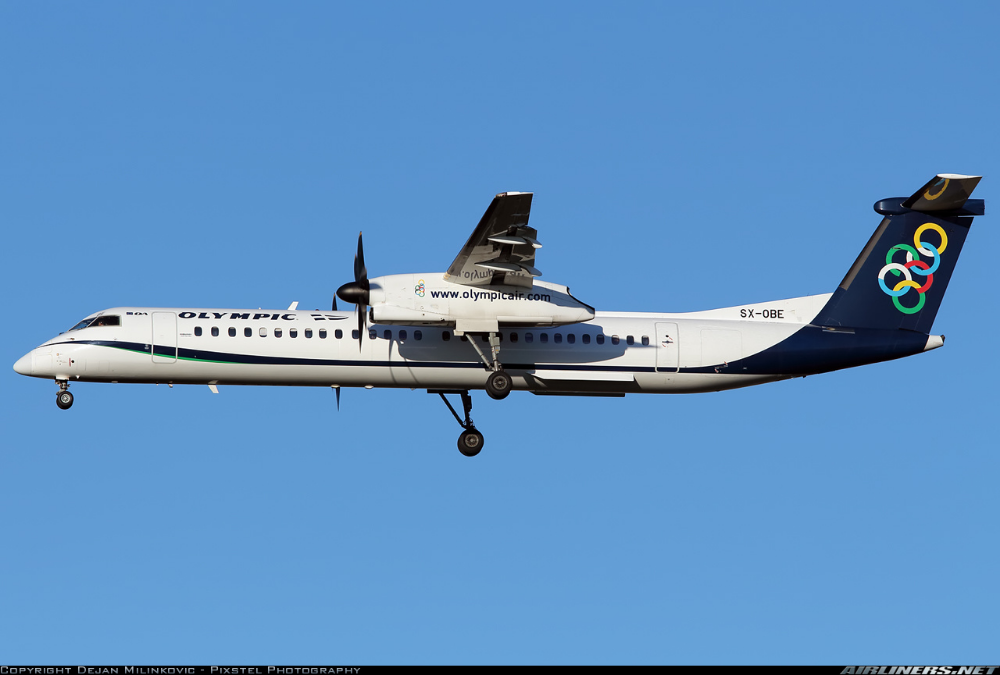 Bombardier DHC-8-402 Q400 - Olympic | Aviation Photo #2370254 | Airliners.net