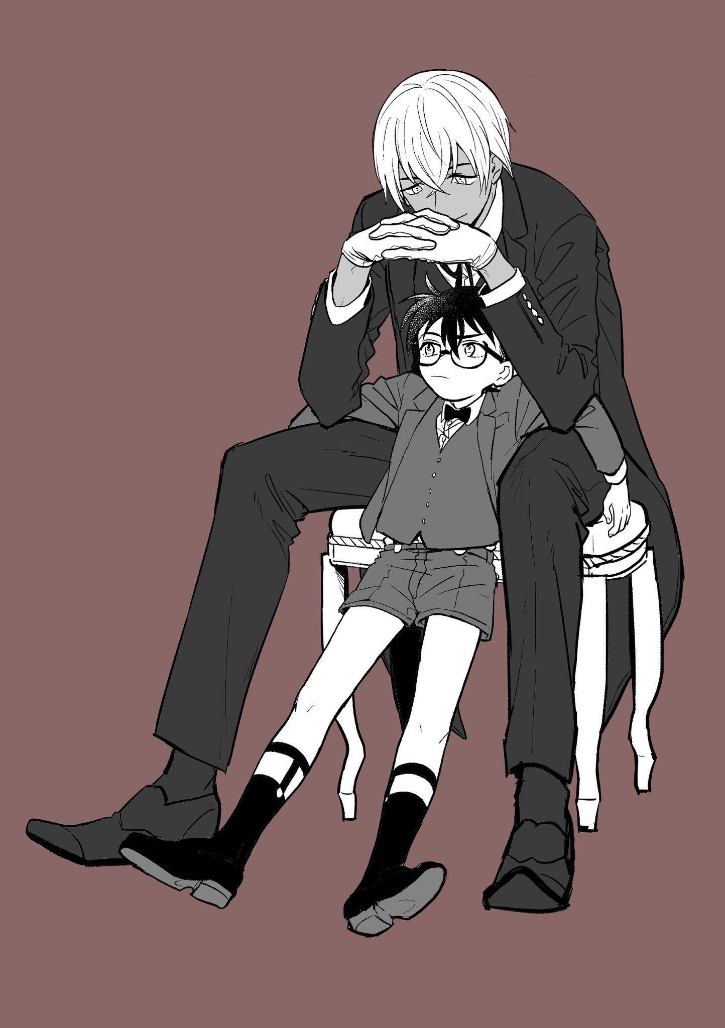 にく on in 2020 (With images) Detective conan, Anime