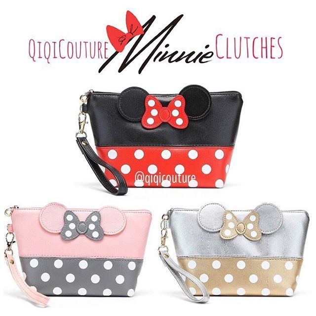 Minnie Mouse Clutches