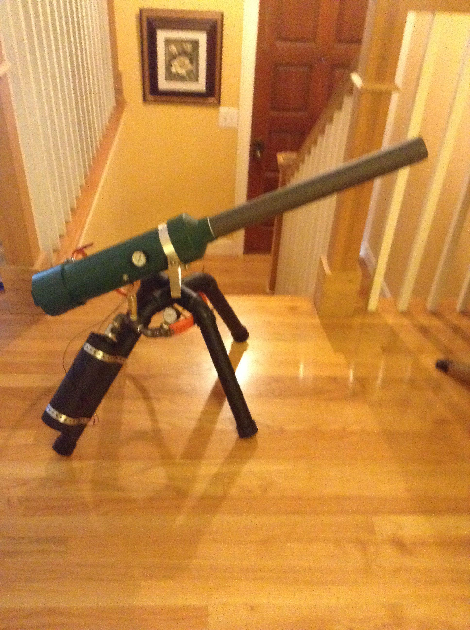 Propane cannon | Potato launcher | Air cannon, Homemade weapons, Guns