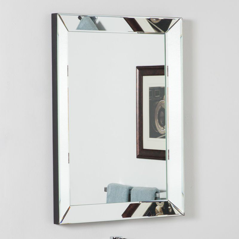 Rectangle Silver Vanity Wall Mirror In 2018 Decorating Ideas