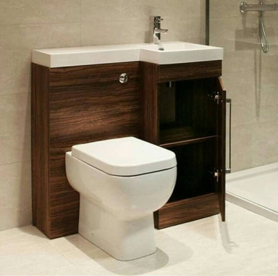 Attractive Space Saving Combination For Upstairs 1 2 Bath