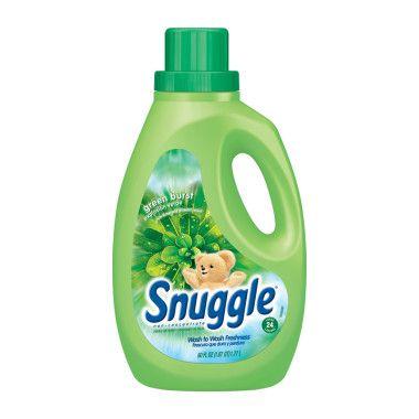 Snuggle Fabric Softener Green Burst 60 Oz Laundry Cleaning Snuggle Fabric Softener Clean Laundry Fabric Softener