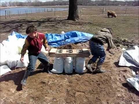 Diy Sandbag Tubes The Easy Way To Fill Sandbags Youtube How To Make Sand Bags Diy Sandbags How To Make Sand
