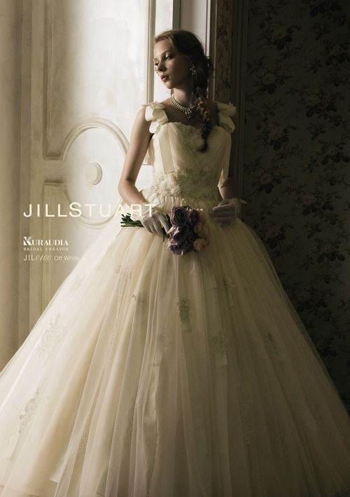 Fantastic off-white Jill Stuart gown.