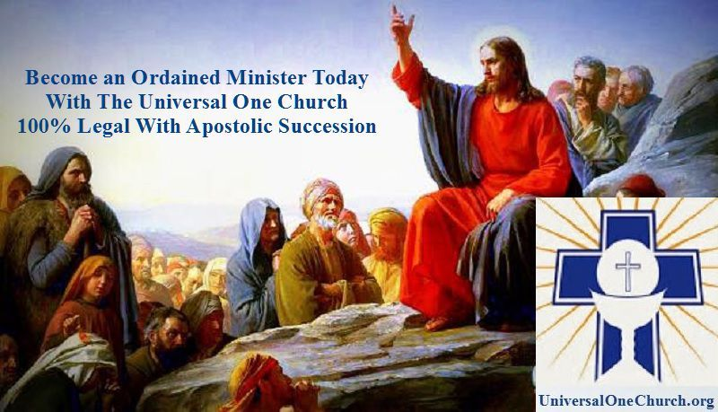 Become A Minister Get Ordained Officiate Weddings Baptisms Or Funerals Start A Church Or Work In Ministry We Offer Universal Life Church Ordination Church