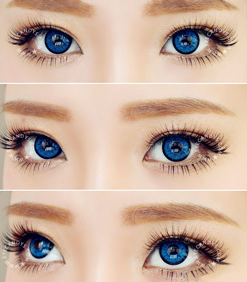Contacts: Eye Circles, Color Contacts And Big Eyes