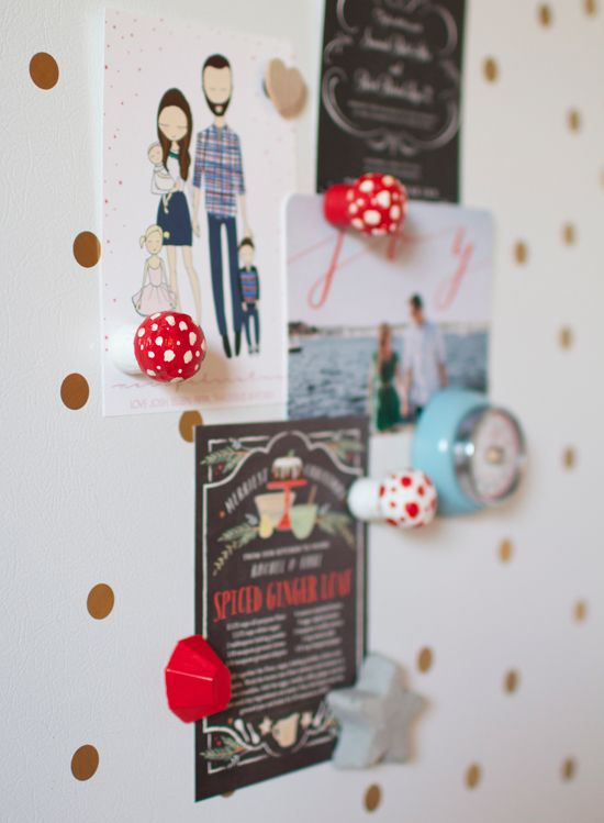 Add a touch of whimsey to your refrigerator door with this easy-to-follow tutorial for making delightful little champagne cork (or any other sparkling white wine cork) toadstool magnets!