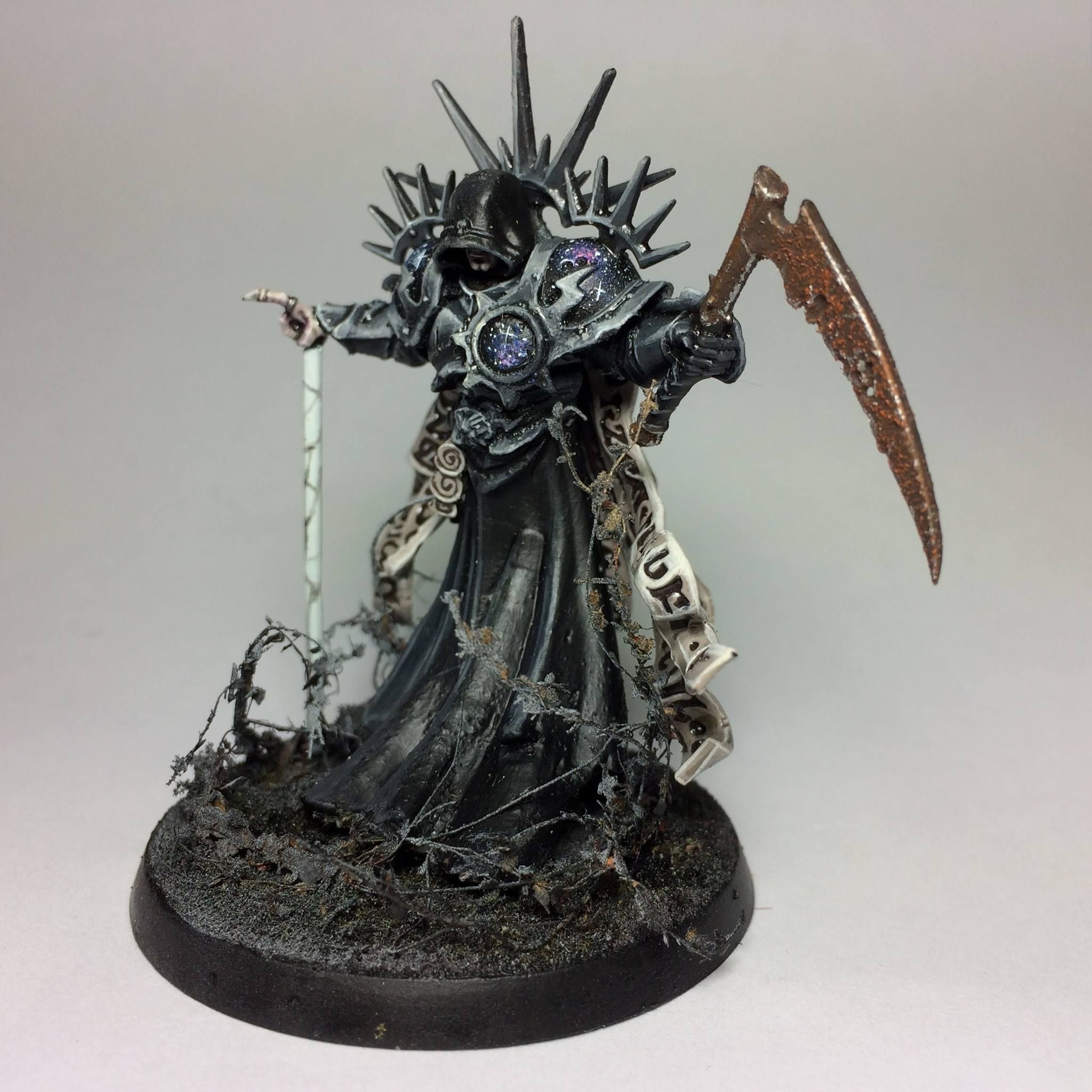 Sorcerer painted action figure 28mm Chaos Space Marines Warhammer 40K