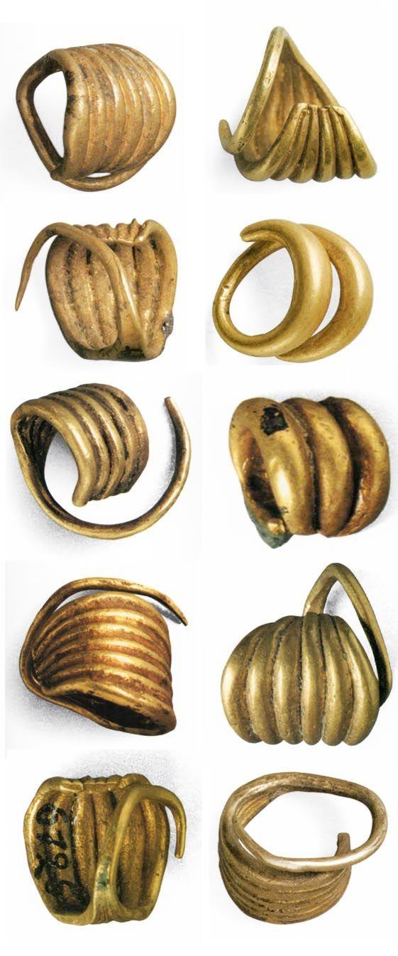 Altın saç takıları (Der Schatz aus Troja) (Erdinç Bakla archive) (Erdinç Bakla archive)