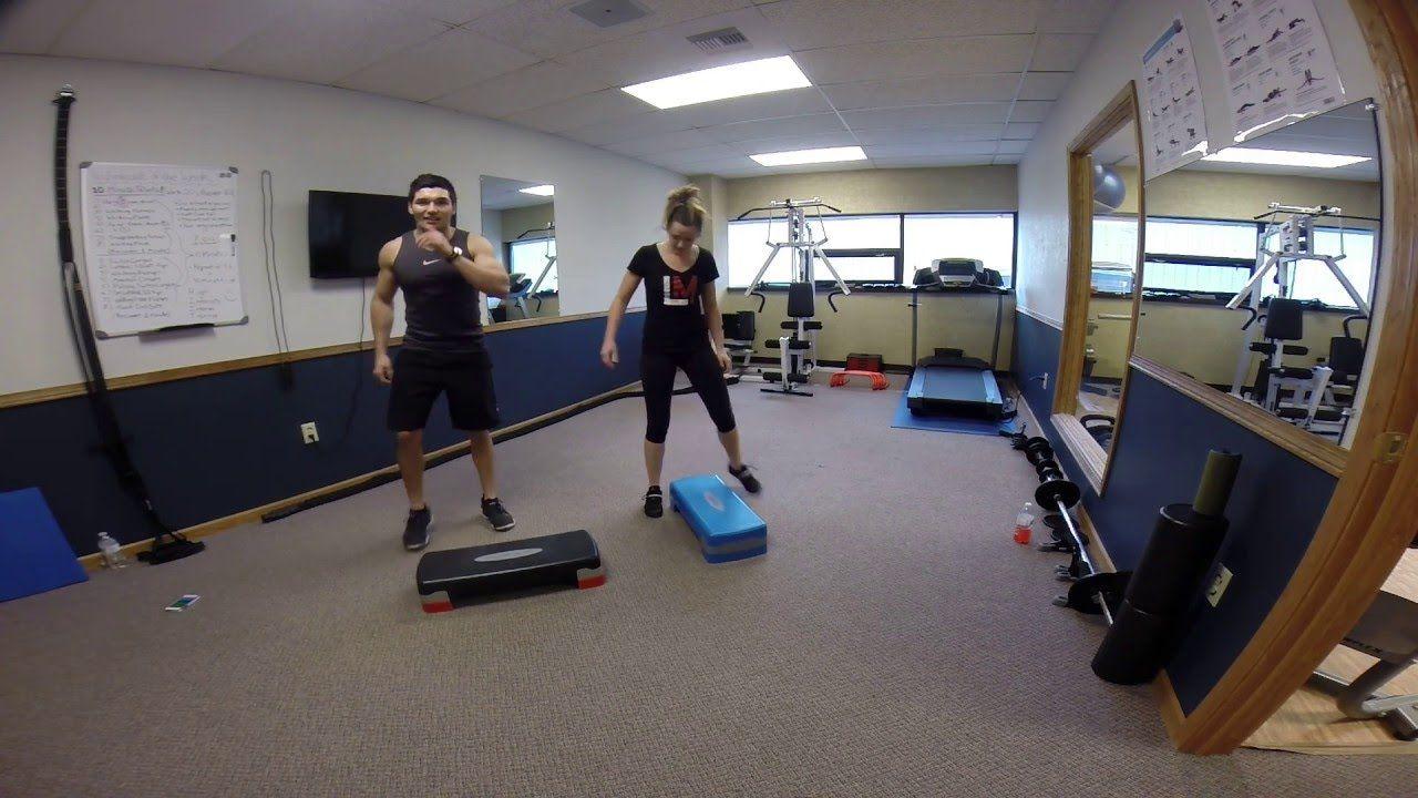 10 Minute Tabata Workout Using A Step Step Workout Step Aerobics Tabata Workouts