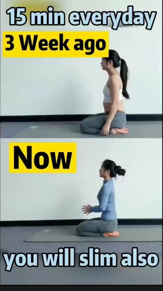 15 min of these exercises everyday will help you lose belly fat