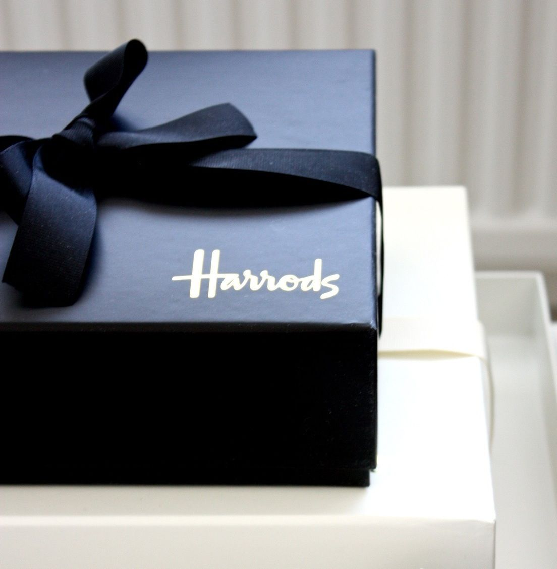 Black (Harrods!) Christmas Gift Box