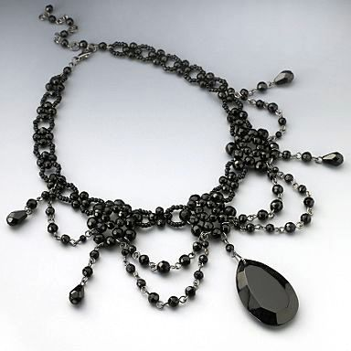 sophisticated of idea pictures black lovetoknow onyx prom set jewelry gallery jewellery slideshow