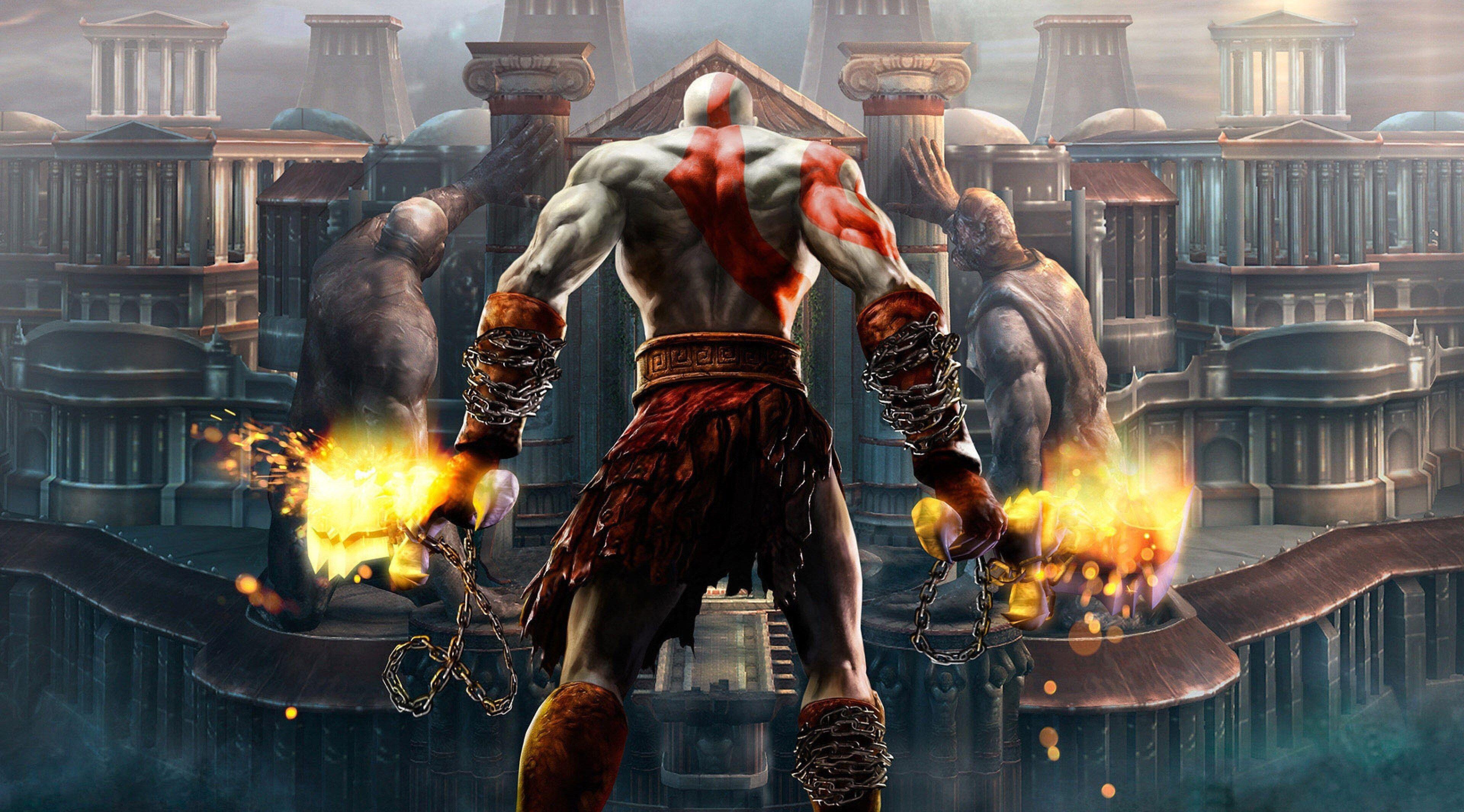 3840x2130 God Of War 4k Wallpaper Download Kratos God Of