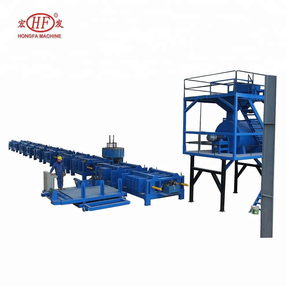 Hongfa Concrete Precast Hollow Core Slab Making Machine Eps Cement Wall Panel Making Machine For Partitions And Cement Panels Concrete Wall Panels Cement Walls
