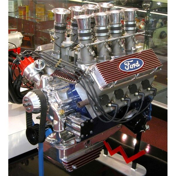Ford Y Block 312 Cid Weslake Racing Conversion Museum Of American Speed With Images Ford Ford Racing Custom Cars