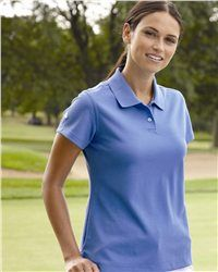Adidas - Golf Ladies' ClimaLite Pique Polo - A85 is no doubt a delicate designed must-have in your wardrobe. Its decent layout will absolutely let you be the most shining one on the golf course. Using the fabric of 55% cotton and 45% polyester, the moisture-wicking textile lining offers a cozy physical condition for your activity. .