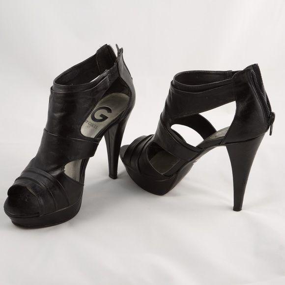 G BY GUESS Black high heels! | Heels
